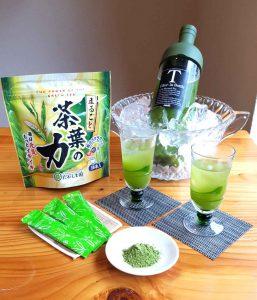 茶葉の力 粉末緑茶