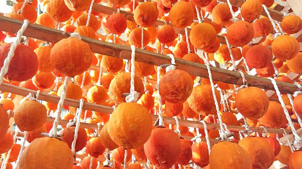 たかしま園の干し柿
