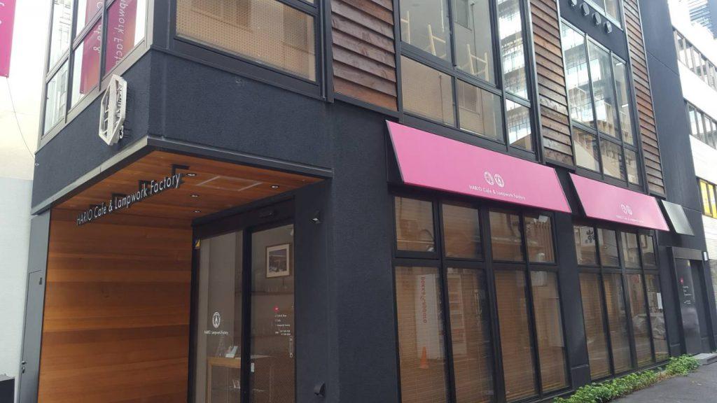 今年オープンしたばかりのハリオカフェ