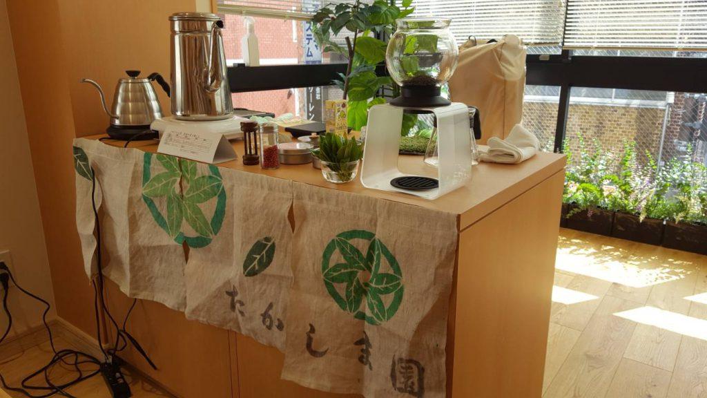 ハリオ製品とたかしま園のコラボ